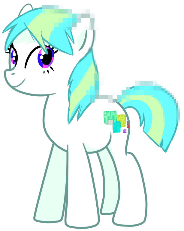 Laggy - Pony OC by pepooni
