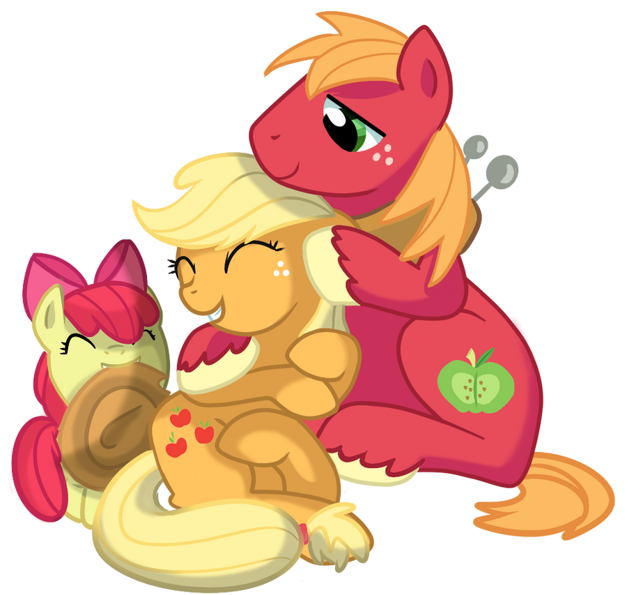 Apple siblings by pepooni