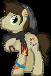 Gamster - Pony OC