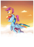 Sunset by pepooni