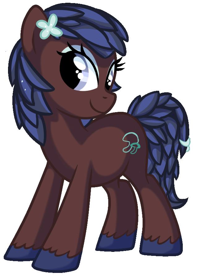 Lumine Spores - Pony OC by pepooni