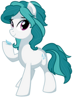 Dew Droplet - Pony OC by pepooni