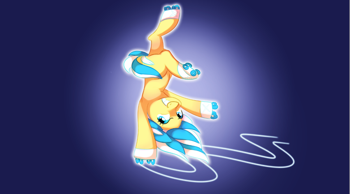 The rollerblading mare by pepooni
