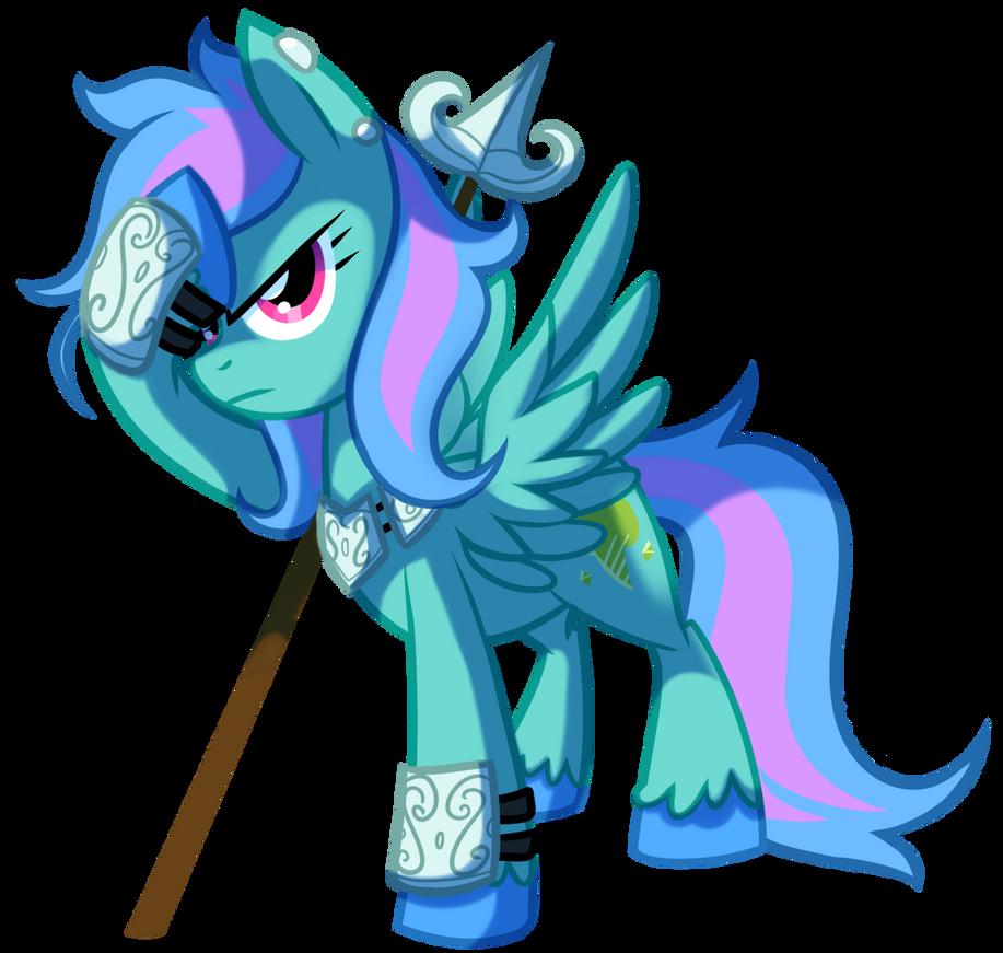 Spearmint - Pony OC by pepooni