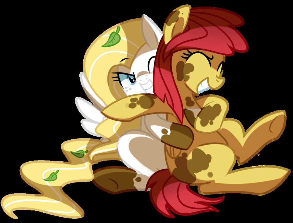 Mud hugs by pepooni