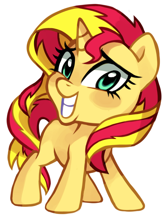 Sunset Shimmer by pepooni