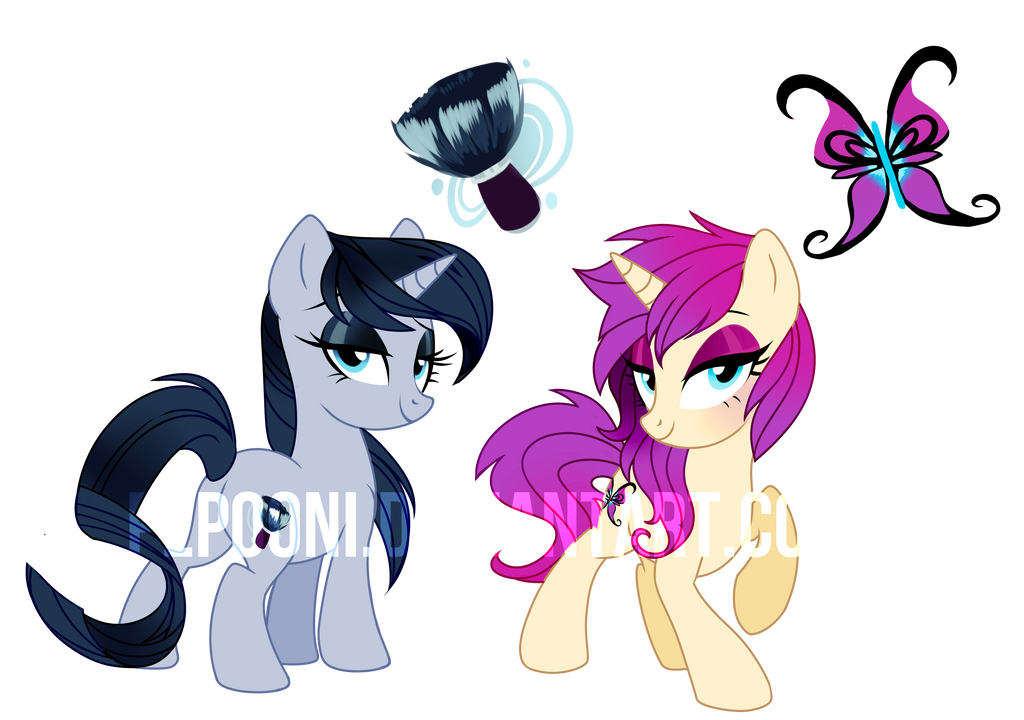 Pony OC Adoptables  [CLOSED] by pepooni