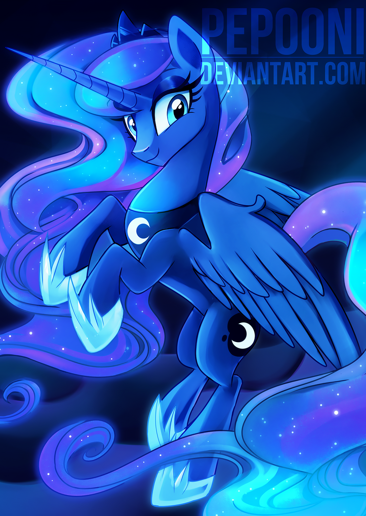 Princess Luna - Bronycon 2015 SCRAPPED by pepooni on ...