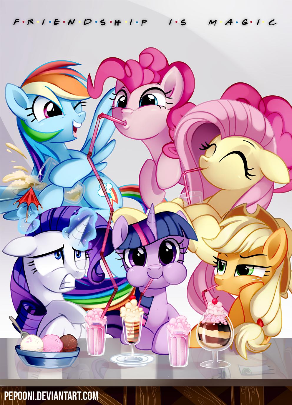 Friendship is magic - Bronycon 2015 by pepooni on DeviantArt