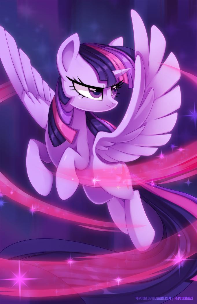 Twilight Sparkle by pepooni