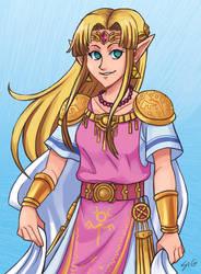 SSBU Zelda by s-iRON