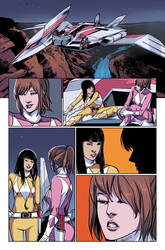 MMPR #17 page 17 Colors