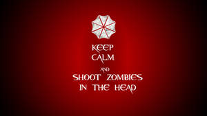 Keep Calm and Shoot Zombies in the Head
