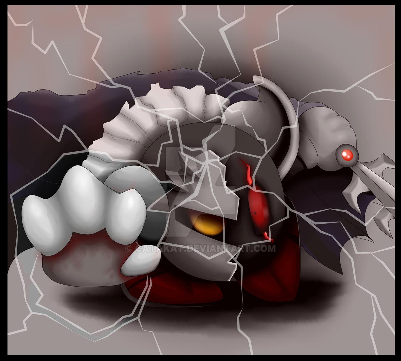 dark meta knight by catakat on deviantart