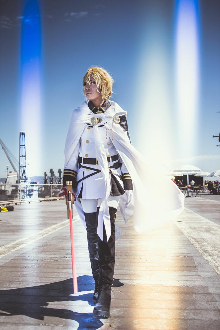 Seraph of the End: Mikaela Hyakuya cosplay by tsukiumi