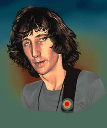 Pete Townshend by thejoshinator