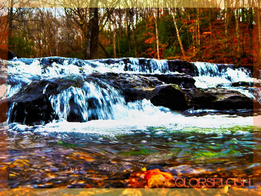 Winter Falls by xColorSplashx