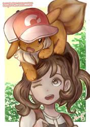 Pokemon Let's Go! Eevee! by LittleMissDrawsAlot