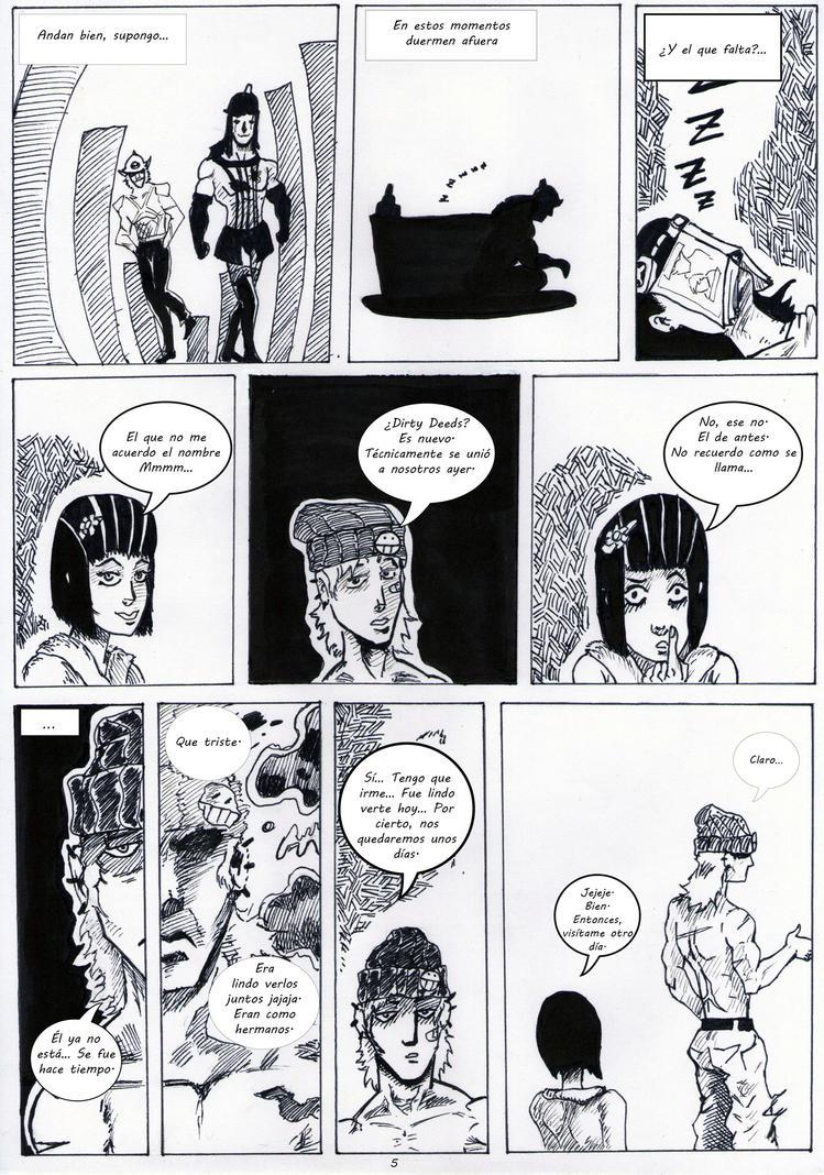 Rolling Souls.Cap.5. la storia di un buco.pag5. by jeremaiden on ...