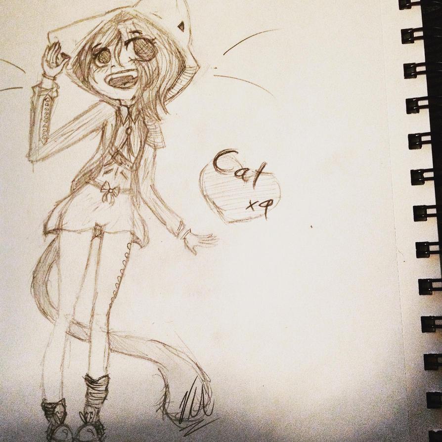 Cat x9 by NumiKitten