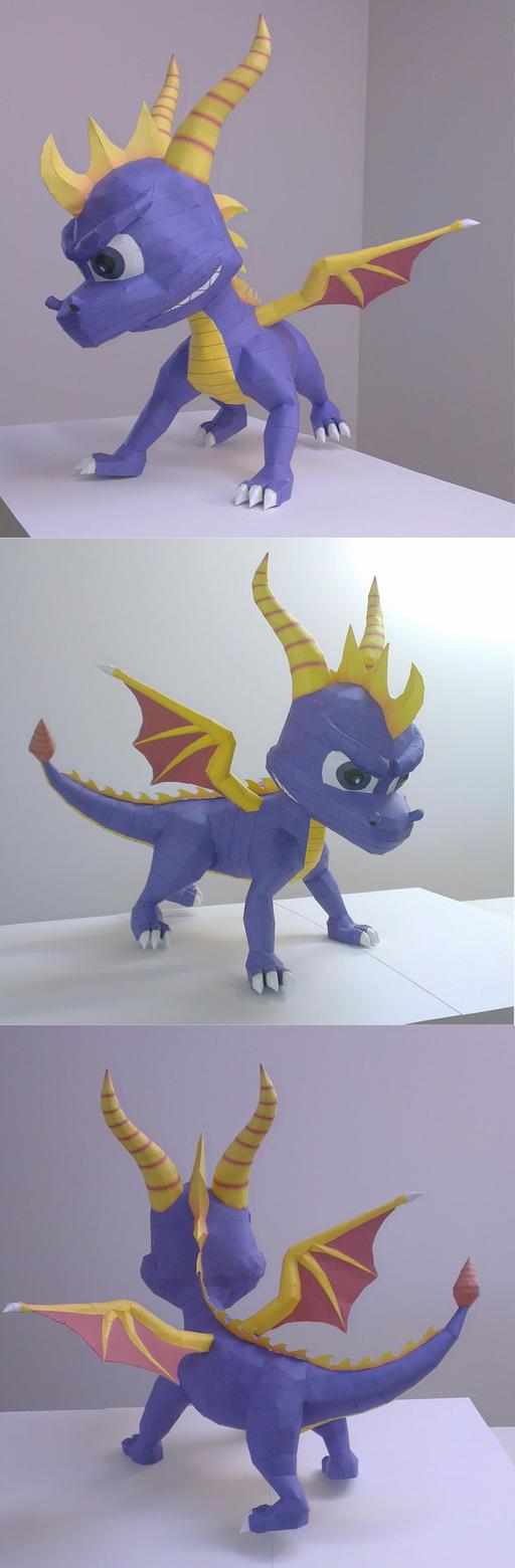 Spyro the Dragon by CJM99
