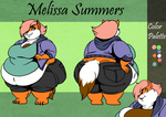 Melissa Summers - Reference sheet.
