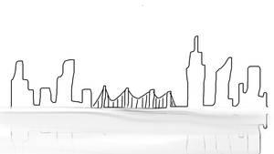 City Skyline by Saam112