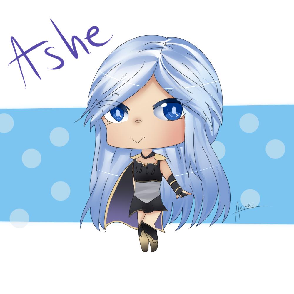 [Secret Santa] Ashe! by Axxelerator