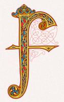 F Lindisfarne Style by twistedstrokes