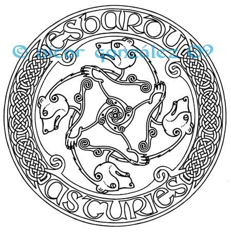 celtic bears logo by twistedstrokes on deviantart