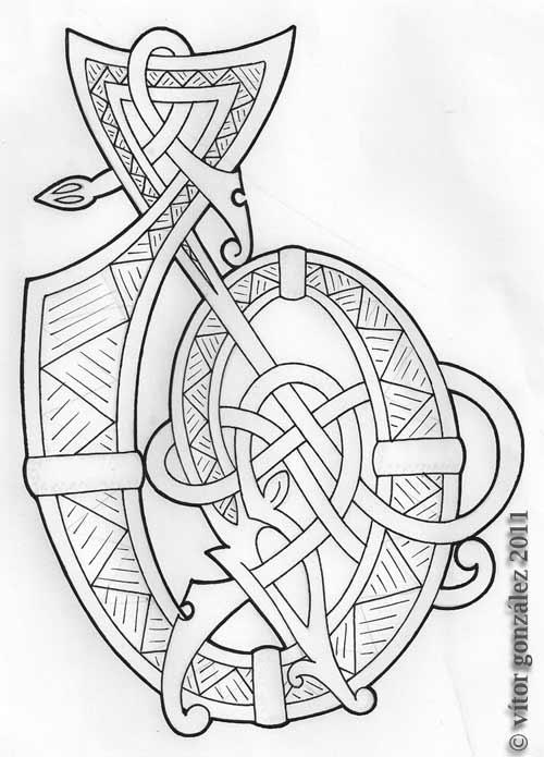urnes style art