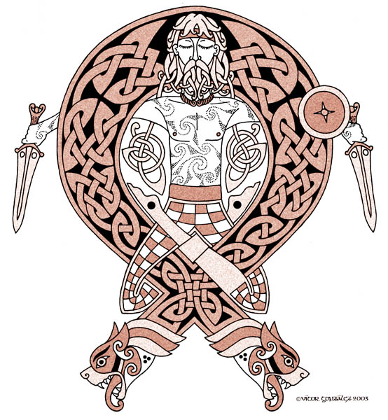 Scottish Warrior Tattoos: Celtic Warrior By Twistedstrokes On DeviantArt