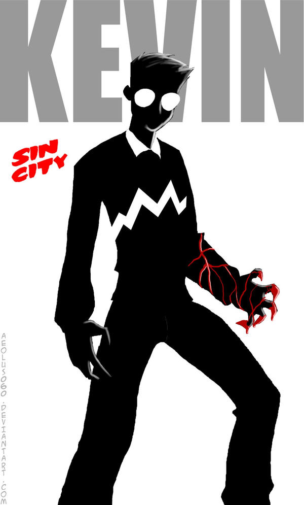 Kevin Sin City Comic