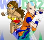 Wonder Katara and Krillaang by Aeolus06
