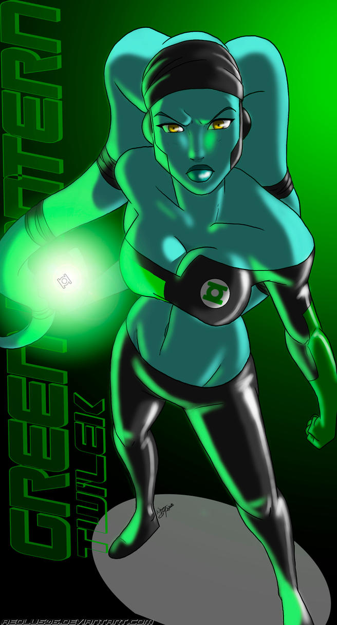 Images découvertes [Fanarts Dragon Ball] - Page 4 Green_lantern_twi__lek_by_aeolus06-d32uodc