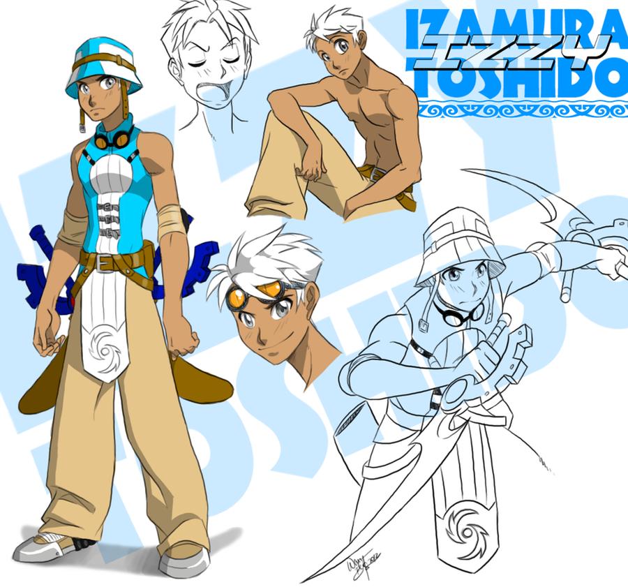 Izamura 'Izzy' Toshido by Aeolus06