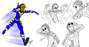 Voltie pose sketches