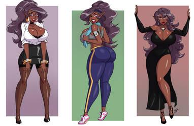Three times a lady by Aeolus06