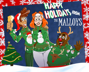 Malloy Christmas Card by Aeolus06