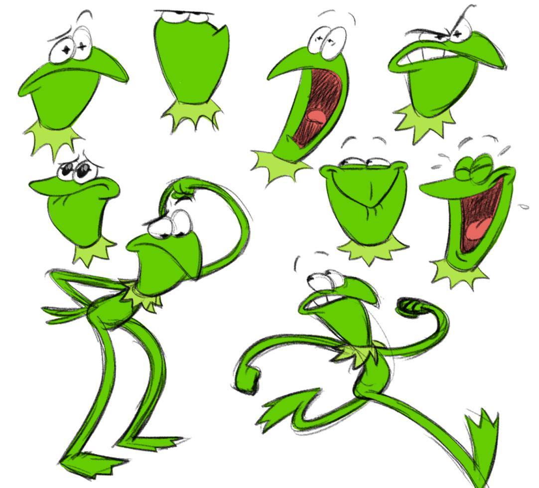 Kermit sketches 02