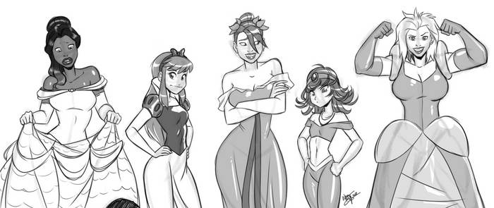Everyone wants to be a Princess