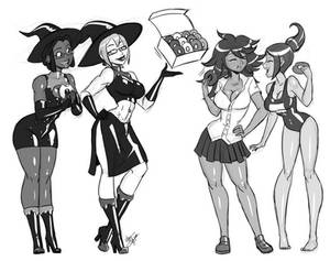 Donut Witches
