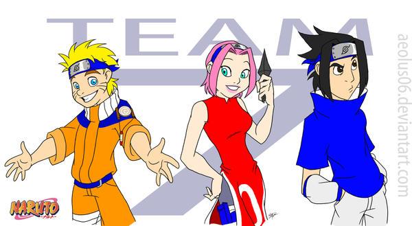 Naruto: Team 7 - my style by Aeolus06