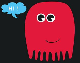 Friendly Octopus by Jakuszczon