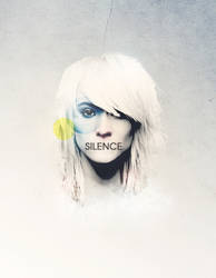 Silence girl poster by Jakuszczon