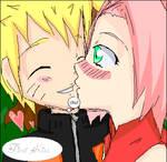 NaruSaku-first kiss