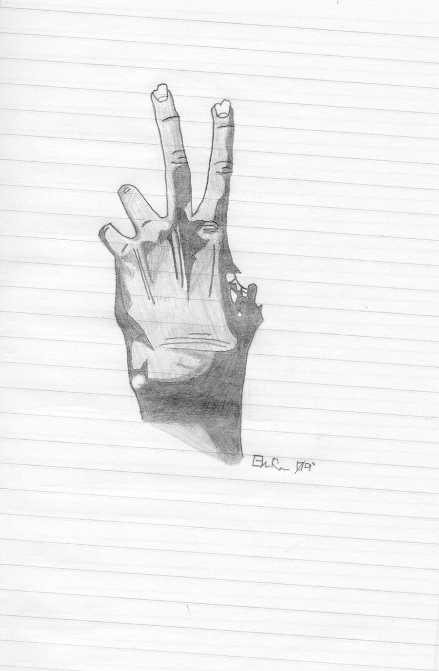 zombie hands left - photo #38