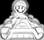 Mario in Fast-drawn