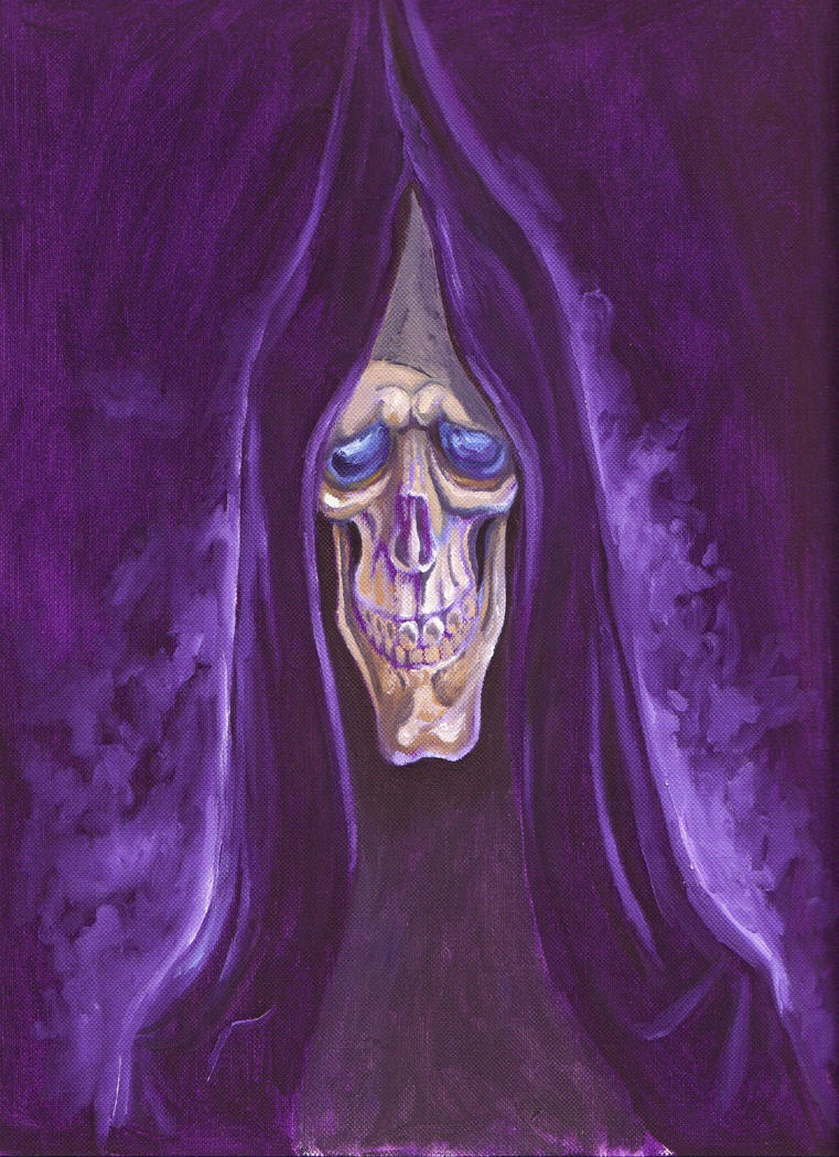 popular比较级-很有艺术感的死神~原图地址:http://nicfish.deviantart.com/art/Death-