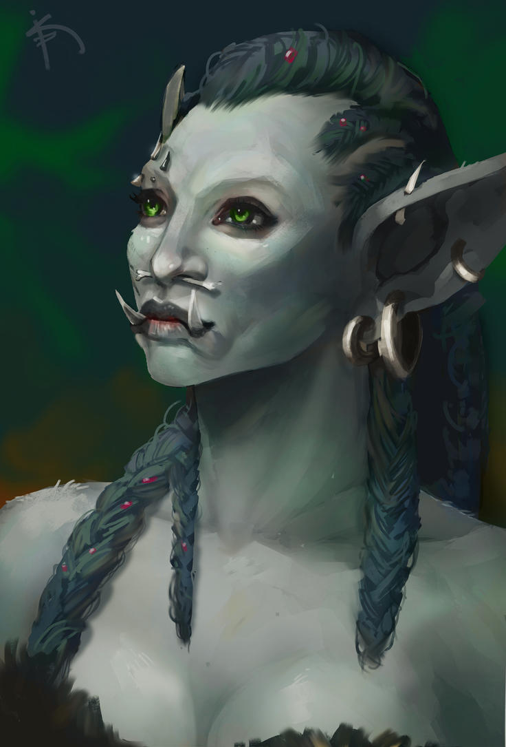 Nar'la - WoW Troll Commission by Characterstudio
